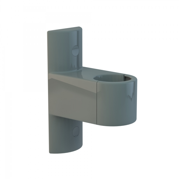 "Press & Splash System ""Wandhalter grau"""